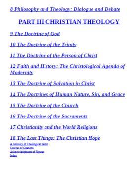 Christian Theology an Introduction screenshot 1