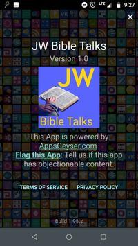JW Bible Talks screenshot 1