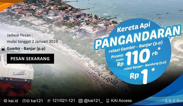 KAI - Tiket Kereta Api Indonesia poster