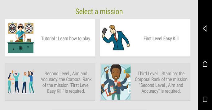 Kill Angry People and Bosses (AR Shoot Game) screenshot 1