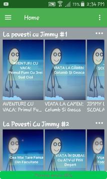 La Povesti Cu Jimmy poster