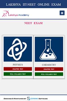 Lakshya IIT NEET APP screenshot 2