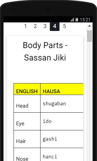 Learn to Speak Hausa Language in 3 Days for Android - APK Download