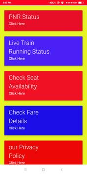 Live Train Running Status poster