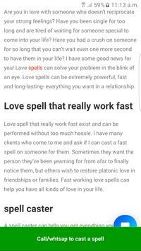 Love Spell screenshot 1