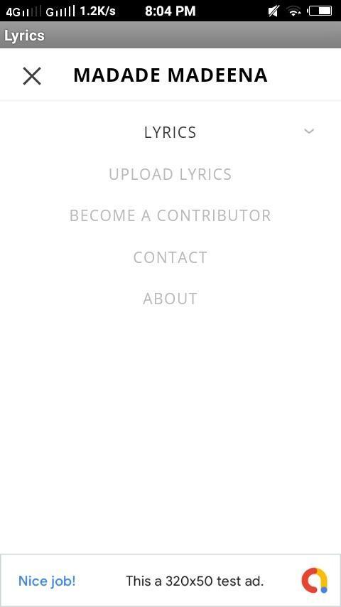 Lyrics_Madh Song Lyrics for Android - APK Download