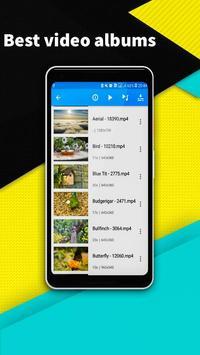 VIDEO PLAYER - minimize audio video player screenshot 1