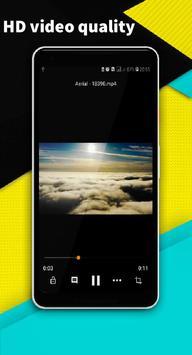 VIDEO PLAYER - minimize audio video player screenshot 2