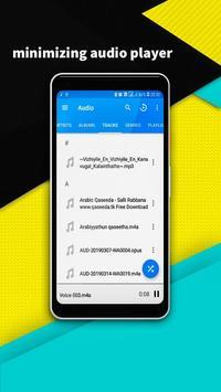 VIDEO PLAYER - minimize audio video player screenshot 3