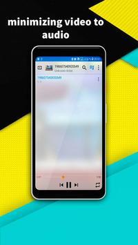 VIDEO PLAYER - minimize audio video player screenshot 4