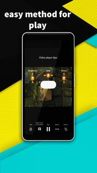 VIDEO PLAYER - minimize audio video player screenshot 5