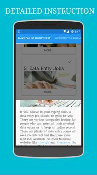 Make Online Money Fast poster