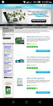 Learn the Real Ways to Make Money Online poster