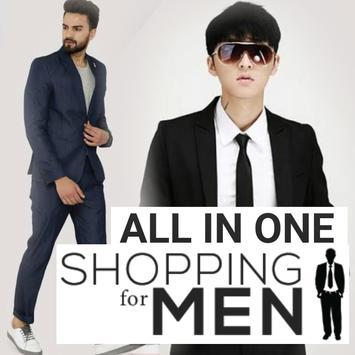 Men`s Shopping - All in one, Online Shopping App poster