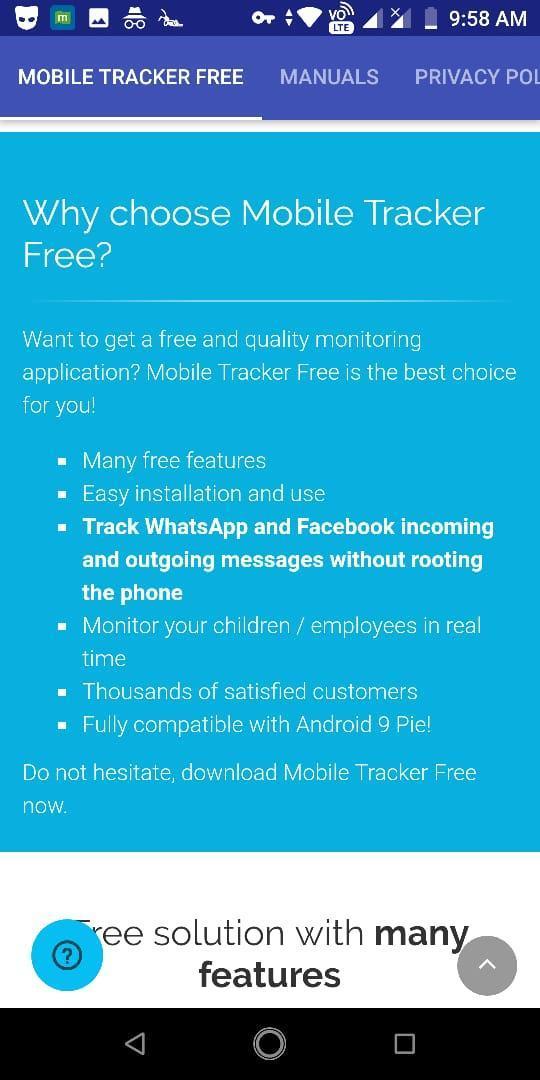 Mobile Tracker - Free to all tracker для Андроид - скачать APK