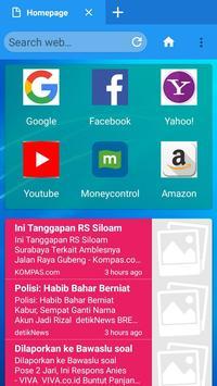 Modi Browser screenshot 2