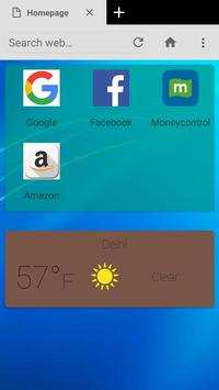 Modi Browser screenshot 3