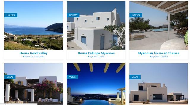 Mykonos Villas screenshot 4