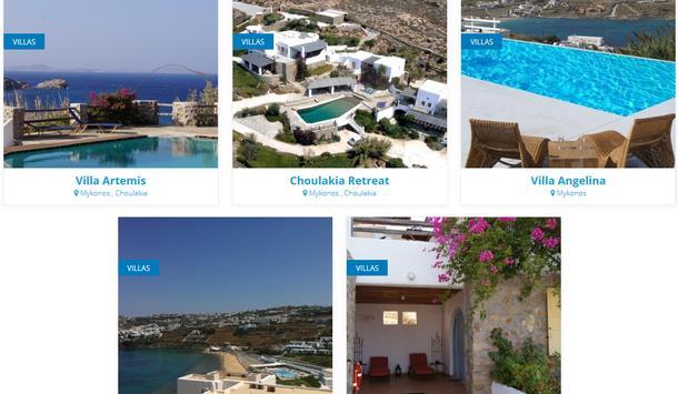 Mykonos Villas screenshot 6