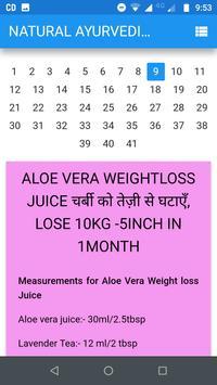 Natural Ayurvedic Gym diet and beauty tips screenshot 3
