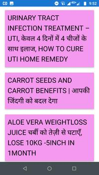 Natural Ayurvedic Gym diet and beauty tips screenshot 1