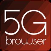Navegador de privacidade do Ize 5G icon