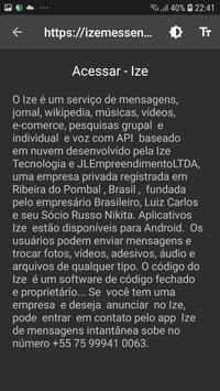 Navegador de privacidade do Ize 5G screenshot 4