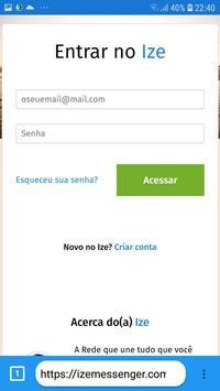 Navegador de privacidade do Ize 5G screenshot 1
