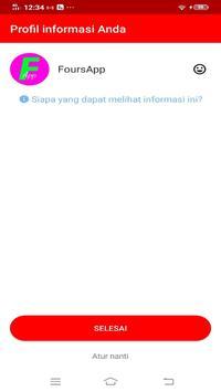 FoursApp Messenger poster