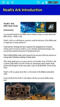 Noah's Ark LCNZ Bible Study Guide poster