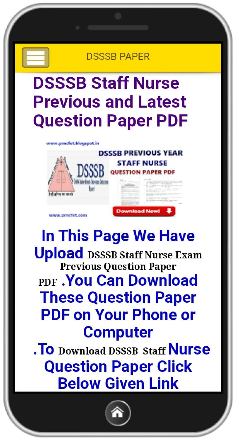 Nursing Paper PDF for Android - APK Download