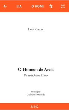 O Homem De Areia Lars Kepler poster