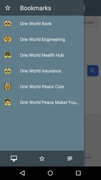 One World Browser screenshot 2