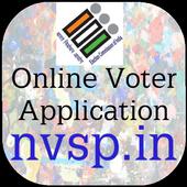 Online Voter App NVSP icon