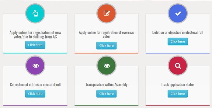 Online Voter App NVSP screenshot 2