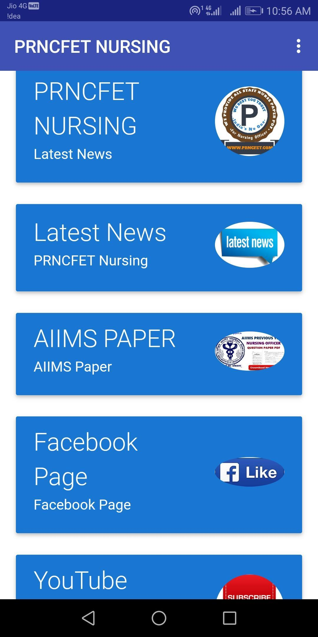 AIIMS Staff Nurse Paper for Android - APK Download