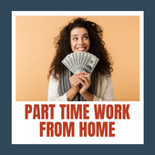 Part Time Work From Home icon