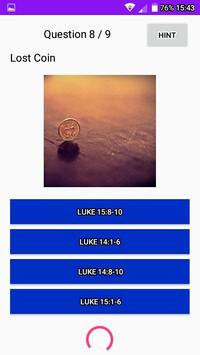 Parables Where in the Bible LCNZ Bible Quiz Game screenshot 6