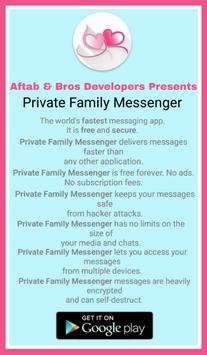 Private Family Messenger poster
