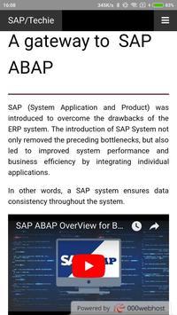SAP Techie || SAP ABAP Tutorials for Android - APK Download