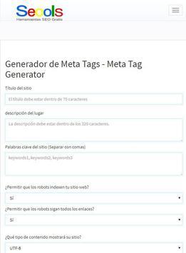 Herramientas SEO Gratis SEOOLS, All SEO Tools screenshot 2