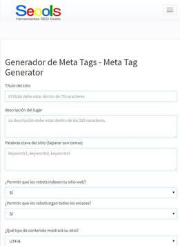 Herramientas SEO Gratis SEOOLS, All SEO Tools screenshot 8