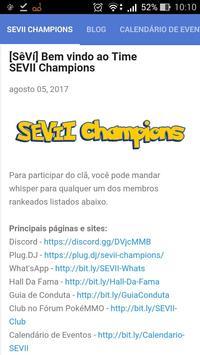 SEVII Champions poster