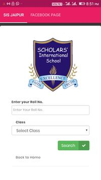 Scholars International School poster