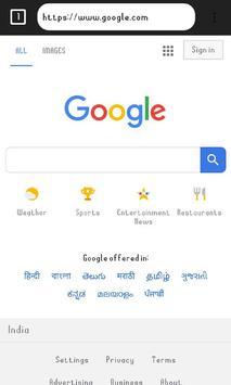 Speedo Browser screenshot 1