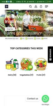 SabjiStop- A place to buy veggies poster