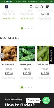 SabjiStop- A place to buy veggies screenshot 1