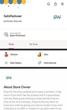 Shillong SatisfiedWear online shopping poster