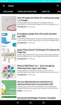 Seo Tips For Website screenshot 5