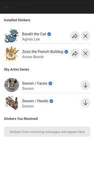 Sky The messenger screenshot 4